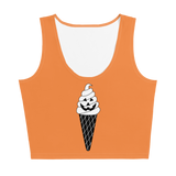 Hallo-Scream Crop Top