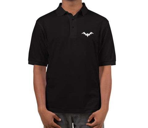 Nocturnal Embroidered Polo Shirt