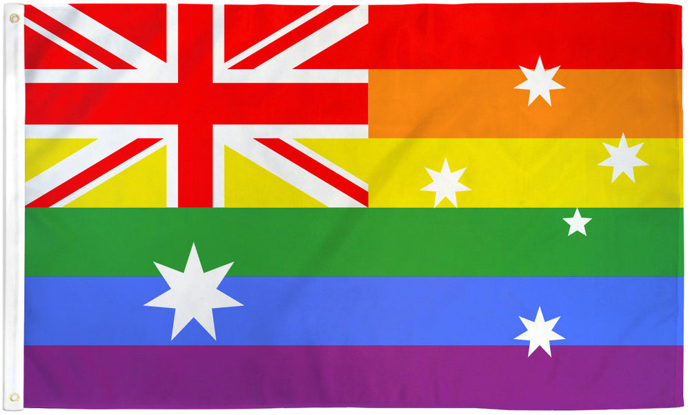 Australia Rainbow Flag 3x5ft