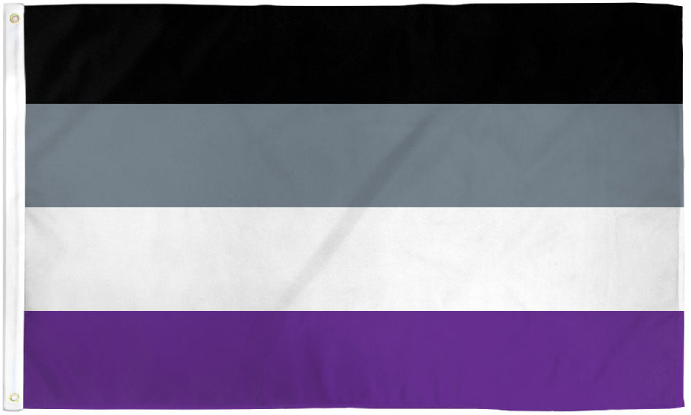 Asexual Flag 3x5ft