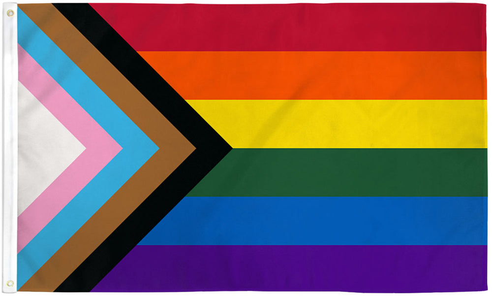Inclusive Rainbow Flag 3x5ft