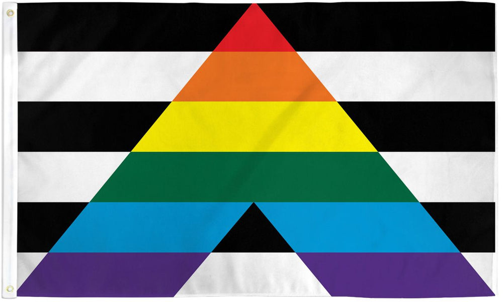 Gay Straight Alliance (Ally) Flag 3x5ft