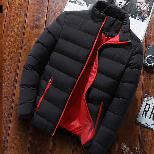 mens light windbreaker jacket slim fit winter jacket men parka coat streetwear men Bomber Jacket male sportswear autumn jacket