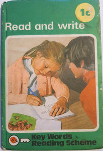 1c Read and Write (1 January 1981 - 30 June 1982)