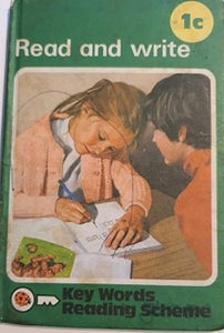 1c Read and Write (25 June 1979 - 31 December 1980) (scribbled cover)