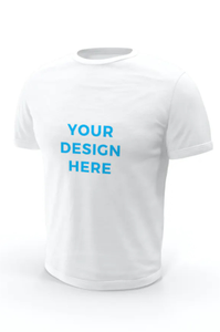 Your Single Coloured Logo/Design T-Shirt