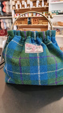 Load image into Gallery viewer, Harris Tweed Clip Bag