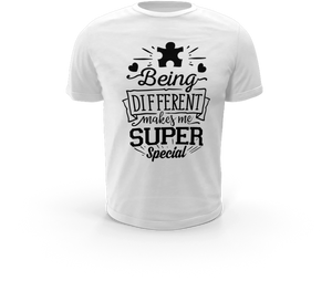 Being Different Makes Me Super Special - Autism T-Shirt