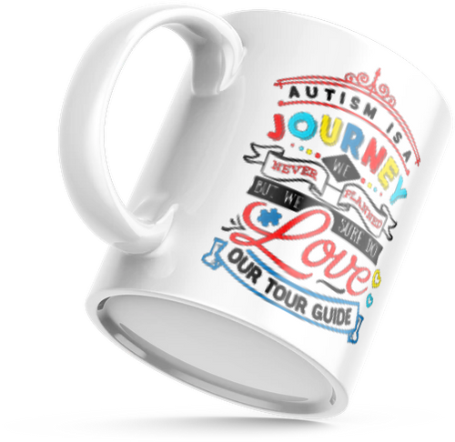 Autism is a Journey - MUG