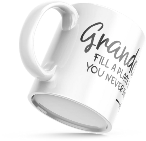 Grandchildren Fill a Place in Your Heart MUG