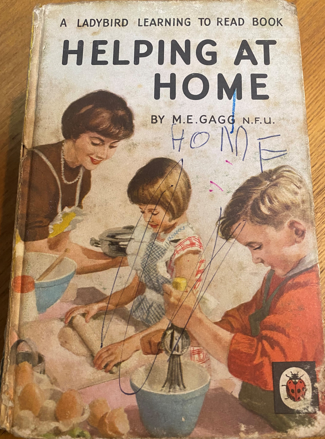 Helping at Home (February 1971 - May 1971) *scribbled cover