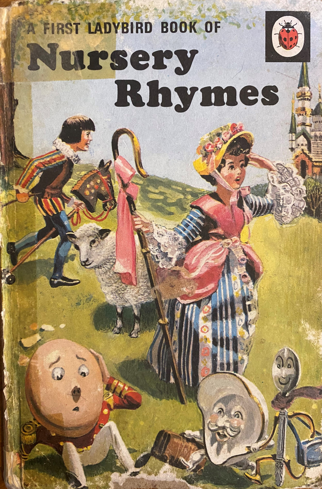 First Ladybird Book of Nursery Rhymes (1 January 1984 - 31 December 1985) * damaged cover