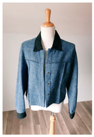 Vintage Avatar Blue felt Jacket