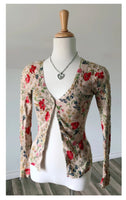 Vintage Blossom Cardigan - Size Small