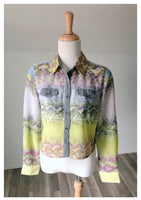 Vintage Nicki Blouse - Size Medium