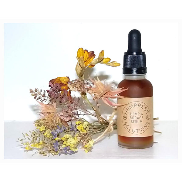 Organic Hemp & Borage Face Serum