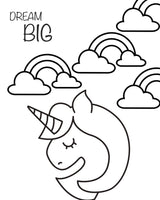 FREE Coloring Page - Dream Big