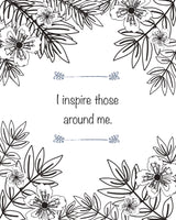 FREE Coloring Page - I Inspire Others
