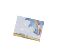 Hello Baby Rainbow Greeting Card Stationery