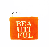 BEAUTIFUL Canvas Pouch