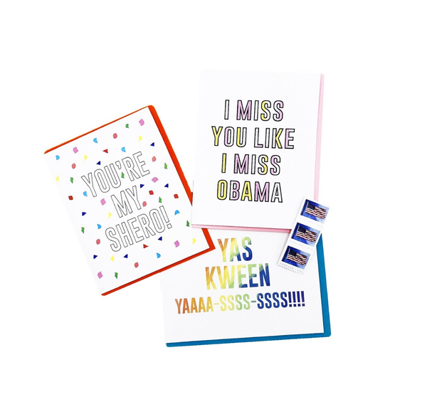 Girl Gang Card Bundle - 3 Pack STAMPS INCLUDED