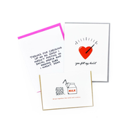 Love And Appreciation Card Bundle - 3 Pack STAMPS INCLUDED
