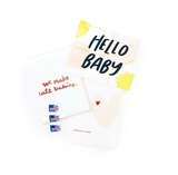 New Baby Card Bundle - 3 Pack STAMPS INCLUDED