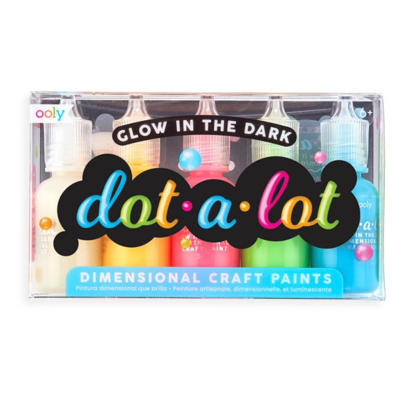 Glow In The Dark Puff Paint