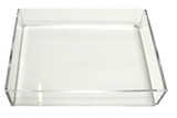 Brushstroke Note Paper in Personalized Acrylic Tray