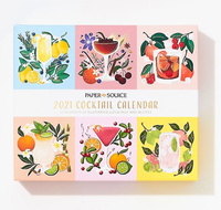 2021 Cocktail Desk Calendar