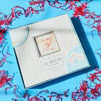 Grey Baby's Memory Book and Sticker Set