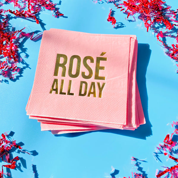 Rosé All Day Napkins