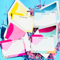 Bright And Bold Stationery