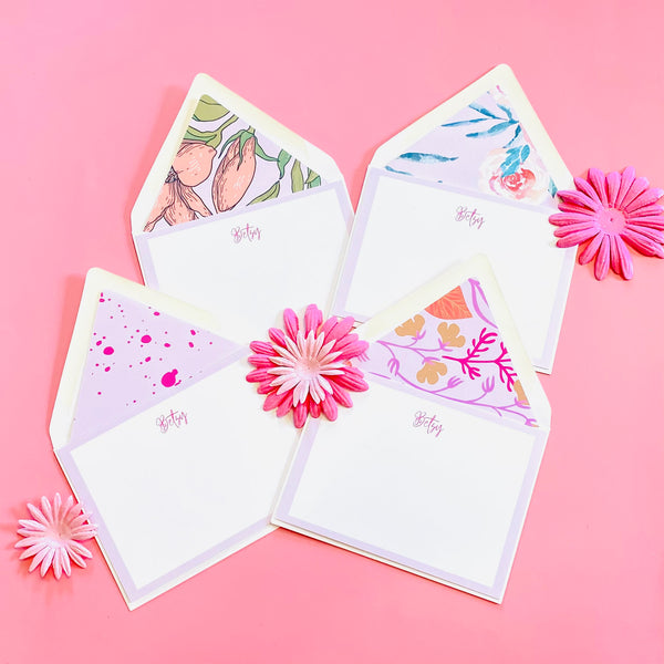 Pink Mother's Day Stationery