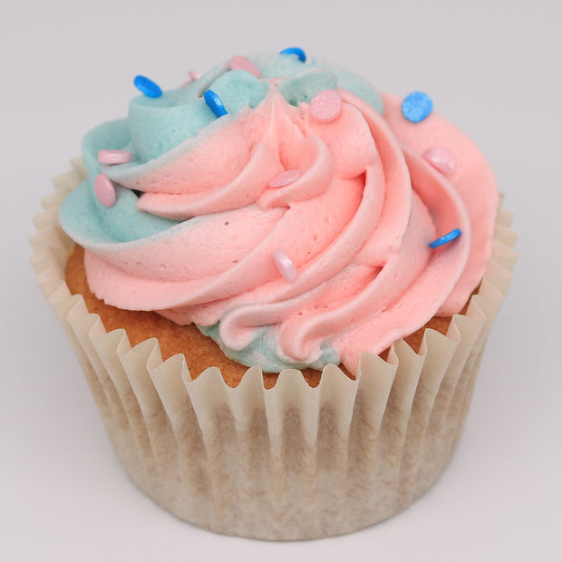 Gender Reveal Cupcakes - Chummy's Bakery