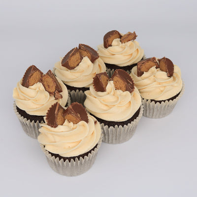 Reeces Pieces Peanut Cupcakes - Chummy's Bakery