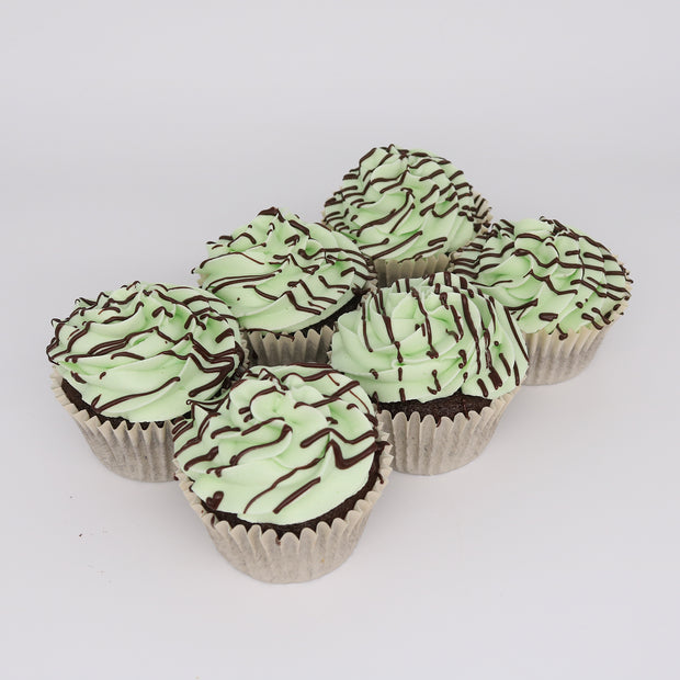 Mint Chocolate Cupcakes - Chummy's Bakery