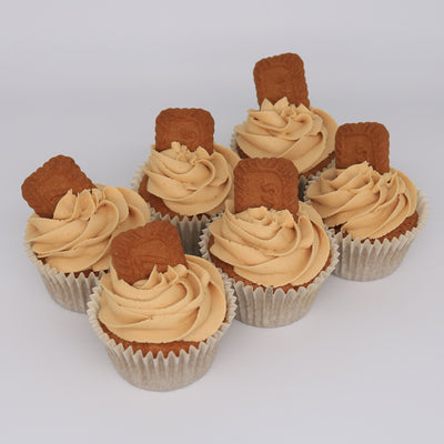 Biscoff Cupcakes - Chummy's Bakery