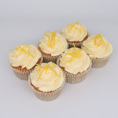Lemon Cupcake - Chummy's Bakery