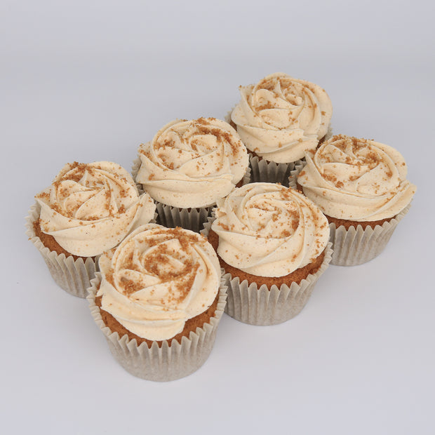 Ginger Cake Cupcakes - Chummy's Bakery