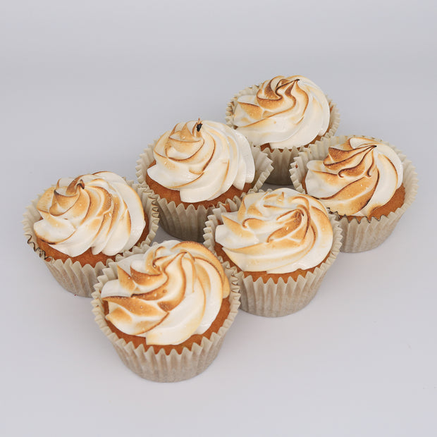 Lemon Meringue Pie Cupcakes - Chummy's Bakery