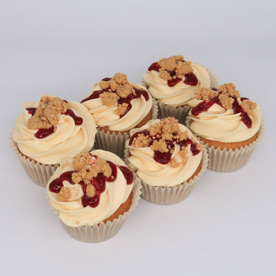 Peanut Butter & Jelly Cupcakes - Chummy's Bakery