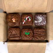 Christmas Limited Edition Postal Brownie Box - Delivered To Your Door - Chummy's Bakery