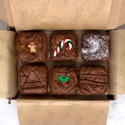 COMING SOON! Christmas Limited Edition Postal Brownie Box - Delivered To Your Door - Chummy's Bakery