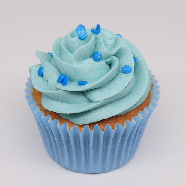 Blue Birthday Cupcakes - Chummy's Bakery