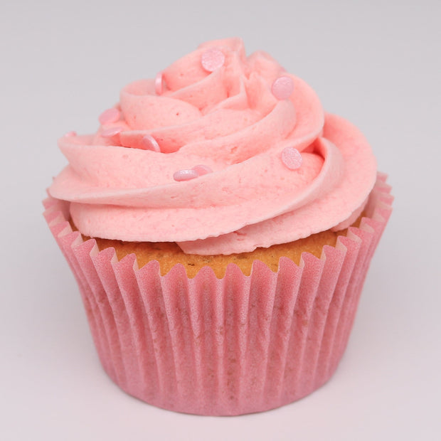 Pink Birthday Cupcakes - Chummy's Bakery