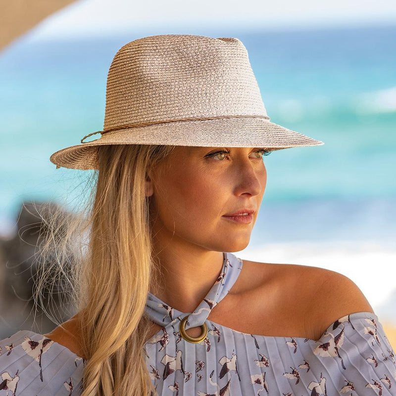 Rigon Headwear ~ Avoca Flexibraid Fedora