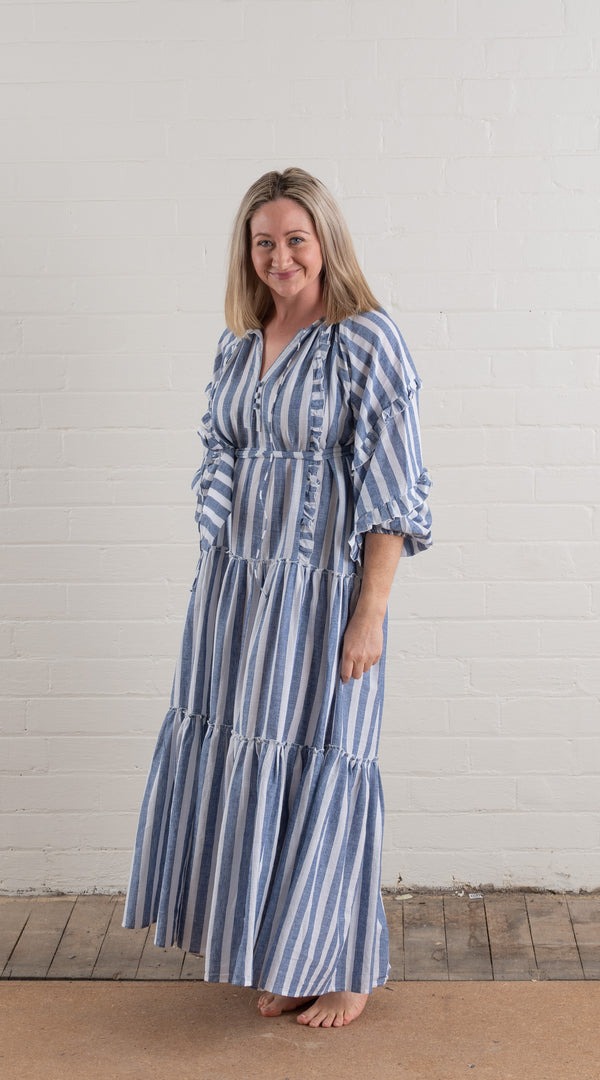 House of Lacuna ~ Florence Maxi Stripe Dress