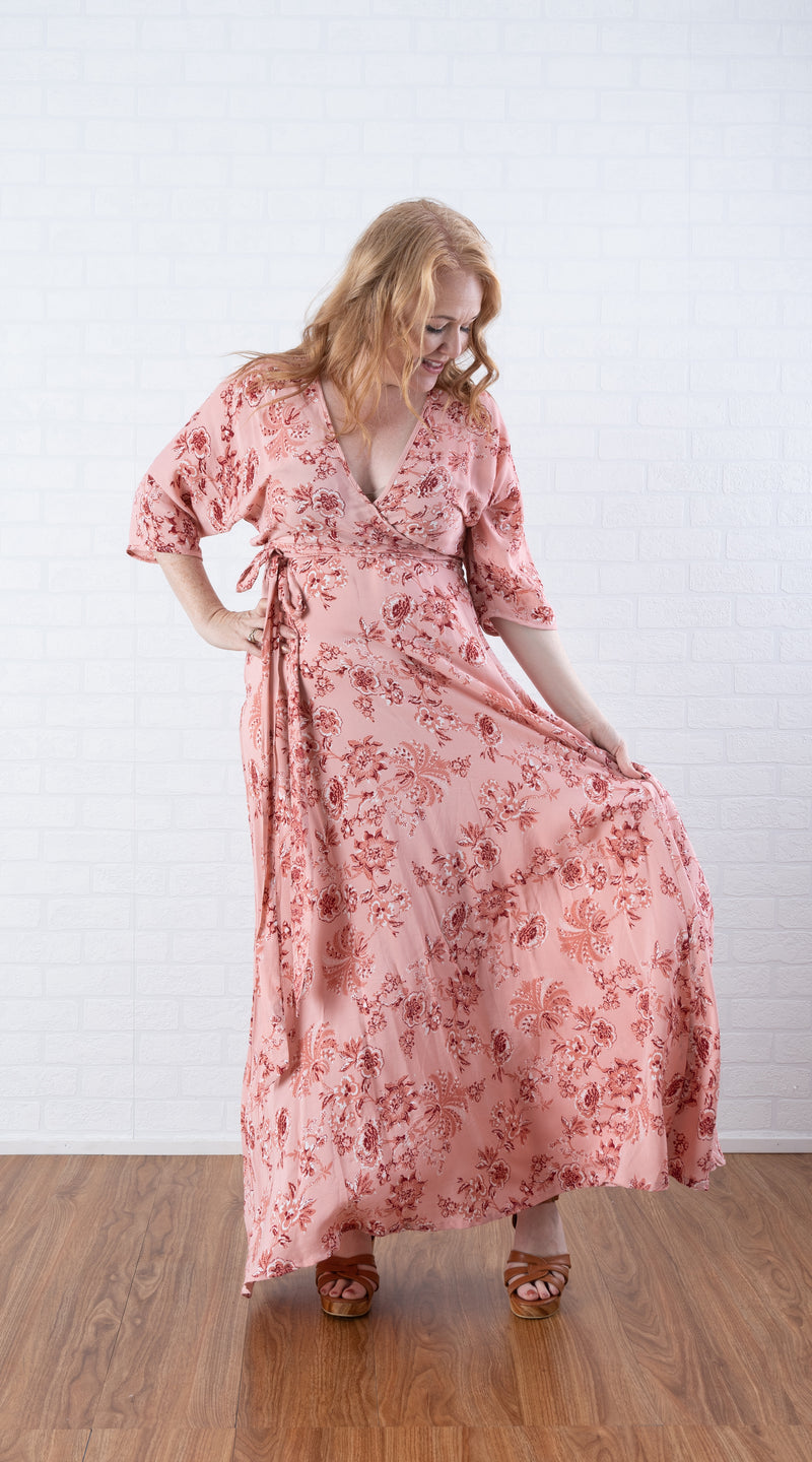 House of Lacuna ~ Ava Dress in Rose