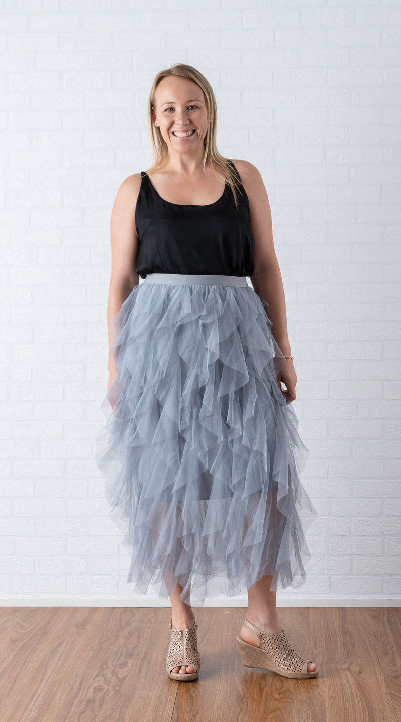 KelK. Tulle Skirt - Full length (3 colours)